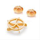 preiswerte Badezimmer Gadgets-Backwerkzeuge Kunststoff Heimwerken Plätzchen Kuchen Brot Dekorierwerkzeug