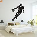 preiswerte Halsketten-Romantik Mode Sport Wand-Sticker Flugzeug-Wand Sticker Dekorative Wand Sticker, Vinyl Haus Dekoration Wandtattoo Wand