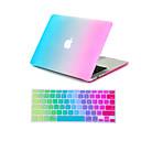 tanie Naklejki na komputery Mac-MacBook Futerał Przejście kolorów Plastikowy na MacBook Air 11 cali