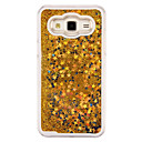 cheap Galaxy J Series Cases / Covers-Case For Samsung Galaxy Samsung Galaxy Case Flowing Liquid Back Cover Glitter Shine PC for J5 J1 Ace J1 Grand Prime Core Prime