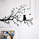 preiswerte Zubehör zum Zeichnen und Schreiben-Landschaft Tiere Romantik Mode Formen Feiertage Worte & Zitate Cartoon Design Fantasie Botanisch Wand-Sticker Flugzeug-Wand Sticker