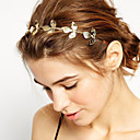 cheap Hair Jewelry-Women's / Girls' Basic / Natural / Simple Style Gold Plated / Alloy Headband Flower / Headbands / Headbands / Leaf
