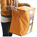 preiswerte Wasserhähne-Textil Kunststoff Oval Mit Verschluss Zuhause Organisation, 1pc Lagerungskisten