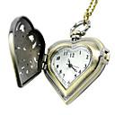 رخيصةأون ساعات النساء-رجالي ساعة جيب ساعة رقمية كوارتز الأصفر جيب ساعة كاجوال مماثل سحر موضة سنة واحدة عمر البطارية