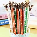 hesapli Fırın Araçları ve Gereçleri-Kalem Kalem Jel Kalem Kalem, Plastik Siyah mürekkep Renkleri For Okul malzemeleri Ofis malzemeleri Pack