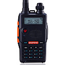 cheap Walkie Talkies-BAOFENG UV-5R5TH-BLK Handheld / Digital Voice Prompt / Dual Band / Dual Display 1.5KM-3KM 1.5KM-3KM 128 1800mAh 5W/1W Walkie Talkie Two Way Radio / 136-174MHz / 400-520MHz / FM Radio / Dual Standby