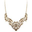 hesapli Gerdanlıklar-Kadın's Açıklama Kolye - İfade, Vintage, Moda Altın Kolyeler Mücevher Uyumluluk Düğün, Parti, Günlük