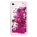 olcso Divat nyaklánc-Case Kompatibilitás iPhone 5 / Apple / iPhone X iPhone X / iPhone 8 Plus / iPhone 8 Folyékony Fekete tok Csillogó Kemény PC