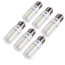 cheap LED Corn Lights-YouOKLight 6pcs 15 W 1350 lm E14 / E26 / E27 LED Corn Lights T 56 LED Beads SMD 5730 Decorative Warm White / Cold White 220-240 V / 110-130 V / 6 pcs / RoHS
