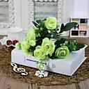 preiswerte Innendekoration-Künstliche Blumen 1 Ast Simple Style Camellia Tisch-Blumen