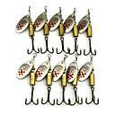 ieftine Momeală Pescuit-10 pcs Δόλωμα Buzzbait & Momeli spinnerbait Linguri Momeli filator Pană MetalPistol Scufundare Scufundare Rapidă Pescuit mare Pescuit de Apă Dulce Alte / Momeală pescuit / Pescuit în General