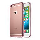 Недорогие Кейсы для iPhone-Кейс для Назначение Apple iPhone 6 Plus / iPhone 6 Покрытие / Прозрачный Кейс на заднюю панель Однотонный Мягкий ТПУ для iPhone 7 Plus / iPhone 7 / iPhone 6s Plus