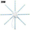 hesapli LED Tavan Işıkları-YWXLIGHT® 1pc 20 W 1600-1920 lm 40 LED Boncuklar SMD 5730 Dekorotif Serin Beyaz 220-240 V / 1 parça / RoHs