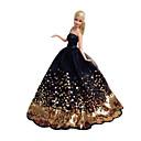 hesapli LEDler-Parti / Gece Elbiseler İçin Barbie Bebek Dantel / Saten Elbise İçin Kız Oyuncak bebek