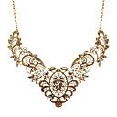 hesapli Kadın Saatleri-Kadın's Uçlu Kolyeler - Çiçek Moda Antik Bronz Kolyeler Mücevher Uyumluluk Balo, Bar