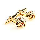 preiswerte Halsketten-Golden Manschettenknöpfe Aleación Büro / Freizeit Herrn Modeschmuck Für