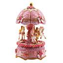 رخيصةأون بروشات-الفخار وردي الإبداعية مربع الموسيقى الرومانسية لبيع الهدايا