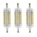 Χαμηλού Κόστους Κιτ DIY-YWXLIGHT® 3pcs 4 W 350-400 lm R7S LED Λάμπες Καλαμπόκι T 60 leds SMD 2835 Αδιάβροχη Διακοσμητικό Θερμό Λευκό Ψυχρό Λευκό AC 220-240V