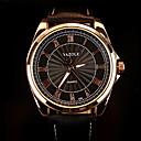 cheap Bracelets-Men's Wrist Watch Water Resistant / Water Proof PU Band Charm Black / Brown / SODA AG4