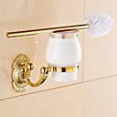 hesapli Banyo Gereçleri-Tuvalet Fırçası Tutacağı Neoklasik Pirinç 1 parça - Otel banyo