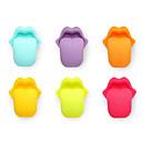 preiswerte Tee-Zubehör-6 stücke zunge weingläser recognizer marker party saug silikon label gummi