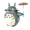 ieftine Kit De Activitate De Copii-particule fine de diamant hc puzzle casual, cartuș de luptă blocuri de construcție 9005 Totoro supradimensionate Totoro umbrelă