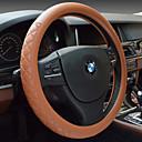cheap Car Mounts & Holders-Car Steering Wheel Set Of Leather To Set The Diamond Lattice Embossed Non-Slip High-Grade Steering Wheel Covers