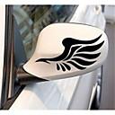 رخيصةأون الديكورات-أبيض / أسود / أصفر Car Stickers استايل صيني ملصقات مرآة الرؤية الخلفية حيوان ملصقات