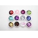 voordelige Make-up & Nagelverzorging-1 pcs Abstract / Klassiek / Glitter & Sparkle Kynsien korut / Glitter & Poudre / Pailletten Nail Art Design Dagelijks