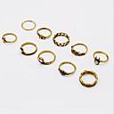 povoljno Prstenje-Midi prsten Legura Vintage Modno prstenje Jewelry Pink / Zlatan Za Dnevno Kauzalni Univerzalna veličina
