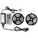 hesapli Voltaj Çevirici-KWB 10m Işık Setleri 600 LED'ler 5050 SMD RGB Uzaktan Kontrol / Kesilebilir / Kısılabilir 100-240 V / Bağlanabilir / Kendinden Yapışkanlı / Renk Değiştiren / IP44