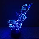 hesapli LED Bi-pin Işıklar-1 parça 3D Gece Görüşü Dekorotif LED