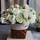 رخيصةأون ملصقات ديكور-زهور اصطناعية 1 فرع ستايل حديث الفاوانيا أزهار الطاولة