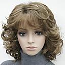 hesapli Küpeler-Sentetik Peruklar Sentetik Saç Çoklu-renk Peruk Kadın's #130