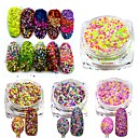 cheap Makeup & Nail Care-1 pcs Nail Jewelry / Other Decorations / Sequins Classic / Wedding / Pastel Lovely Daily / Glitter & Sparkle