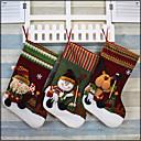 hesapli Fırın Araçları ve Gereçleri-1pc Tatiller & Karşılama Uzun Çorap Noel, Tatil Süslemeleri Tatil Süsleri