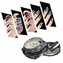 preiswerte Make-up & Nagelpflege-1box Acrylpulver / Puder / Nagel Glitter Spiegeleffekt Nagel-Kunst-Design