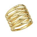 preiswerte Ringe-Damen Bandring - Aleación Modisch 9 Silber / Golden Für Party / Alltag / Arbeit