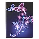 preiswerte Backzubehör & Geräte-Hülle Für Apple iPad Air 2 iPad Air Kreditkartenfächer Ganzkörper-Gehäuse Schmetterling Hart PU-Leder für iPad Air iPad Air 2 Apple