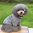ieftine Faruri de Mașină-Pisici Câine Tricou Pulovere Îmbrăcăminte Câini Dungi Albastru Închis Gri Bumbac Costume Pentru Primăvara & toamnă Iarnă Bărbați Pentru femei Keep Warm Modă