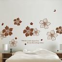 levne Nálepky-Zátiší Romantika Botanický motiv Samolepky na zeď Samolepky na stěnu 3D samolepky na zeď Ozdobné samolepky na zeď, Vinyl Home dekorace