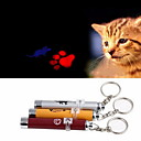 Недорогие Игрушки для кошек-Лазерные игрушки Электроника Мышь Отпечаток ступни Алюминий Назначение Кошка Собака