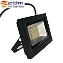 저렴한 LED 콘 조명-zdm 1pc 60w 288 x 3020 smd led 1400lm 실외 방수 ip65 울트라 - 얇은 투영 램프 (ac170-265v) 슈퍼 얇은 검은 색 다이 캐스팅 알루미늄 셸