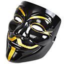 preiswerte Halloween Cosplay-Halloween-Masken / Masken Filmcharaktere / Zum Gruseln Kunststoff / PVC V für Vendetta 1 pcs Stücke Erwachsene Geschenk