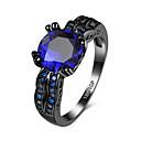 preiswerte Halsketten-Damen Kristall / Kubikzirkonia Ring - Luxus 6 / 7 / 8 Grün / Blau Für Hochzeit / Party / Alltag