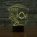 hesapli LED Spot Işıkları-1 parça Gece Lambası / Dekorasyon Işıkları / Noel Işıkları Sensör / Kısılabilir / Su Geçirmez LED / Modern / Çağdaş