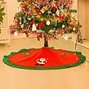 رخيصةأون ملابس وإكسسوارات الكلاب-غطاء الشجرة الزخارف الأزهار/شمعات عطلة إيحائي منسوجات عيد الميلاد المجيد حداثة Halloween حزب زينة عيد الميلاد
