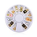 저렴한 LED 캔들 조명-1 pcs 네일 쥬얼리 진주 러블리 네일 아트 매니큐어 페디큐어 일상 반짝이 / 패션