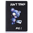 hesapli iPad Stickerları-Pouzdro Uyumluluk Apple iPad 4/3/2 Kart Tutucu Satandlı Flip Temalı Tam Kaplama Kılıf Hayvan Sert PU Deri için iPad 4/3/2 Apple