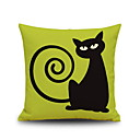 cheap Car Headlights-1 pcs Linen Pillow Cover, Graphic Prints Accent/Decorative